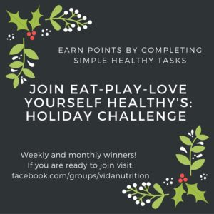 Healthy Holiday Challenge That Lets You Still Enjoy Your Holiday Favorites
